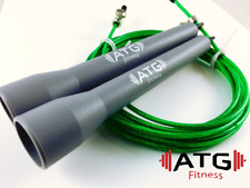 Speed Jump Rope Bearing - GRAY/GREEN - Crossfit Boxing Fitness MMA Gym Training