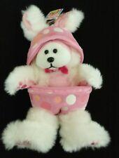 70d3261d65c Retired pink Hopscotch bunny beanie kid easter egg BK968 w tags + secret  code