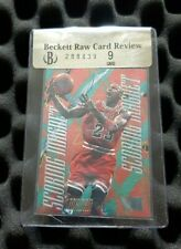 Michael Jordan 95-96 Metal Scoring Magnets BGS 9 Mint RARE 90's Insert RCR