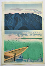 ORIGINALE JAPANESE WOODBLOCK PRINT BY NISHIJYAMA HIDEO