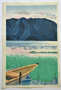 ORIGINALE JAPANESE WOODBLOCK PRINT BY NISHIJYAMA HIDEO