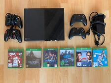 Microsoft Xbox One Konsole mit 4 Controllern und 6 Spielen