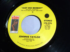 Johnnie Taylor: Just One Moment / It's September  [Unplayed Copy]