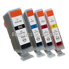 4PK Ink Cartridge for Canon 1 PGI-5 BK 3 CLI-8 Color CMY