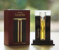 Vintage TORRENTE by TORRENTE bottle PURE PARFUM 7,5 ml~1/4 oz OLD RARE