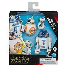 Star Wars Galaxy of Adventures Figure 3 Pack: R2-D2, BB-8 & D-0 - BRAND NEW