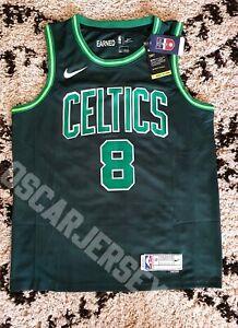 Maillot Shirt NBA Jersey Kemba Walker Boston Celtics 8 Nike Swingman EARNED