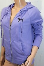 Pink by Victoria's Secret Rainbow Perfect Jacket Hoodie Sweats XSmall NWT Purple