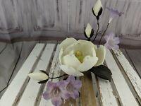 Boehm magnolia graniflora flowers centerpiece large rhododendron figurine RARE