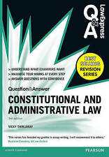 Law Express Q&A: Constitutional and Administrative Law 3rd Edition