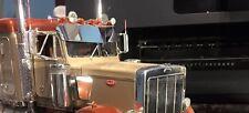 Model Truck Peterbilt Polished Aluminum Drop Visor