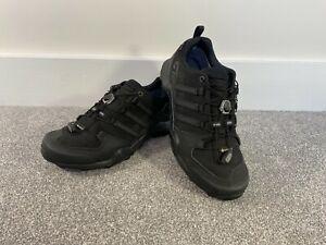 Adidas Terrex Swift R2 GTX Men's Hiking Shoes UK 9 CM7492 Black Continental