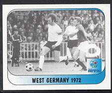 MERLIN CALCIO ADESIVO-UEFA EURO 1996-n. 249-GERMANIA OVEST 1972