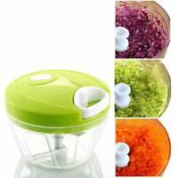 Kitchen Spiral Slicer Food Vegetable Fruit Speedy Chopper Cutter Shredder Tools