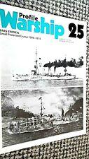 PROFILE WARSHIP #25: SMS EMDEN: SMALL PROTECTED CRUISER 1906-1914 (1972)