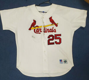 St. Louis Cardinals  Mark McGwire Signed Jersey White
