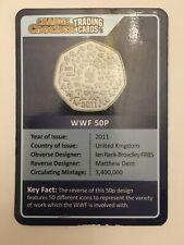 Change checker trading card - WWF 50p