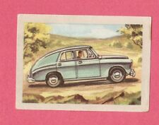 Pobieda 1954 Car Jacques Chocolate Card from Belgium #85