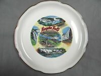 Niagara Falls, Canada -  Features - Decorative Collector Plate - vintage