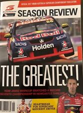 2017 OFFICIAL V8 SUPERCARS CHAMPIONSHIP PUBLICATION SEASON REVIEW: THE GREATEST