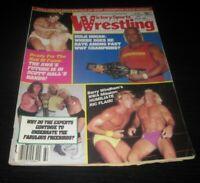 Vintage Victory Sports Wrestling Magazine WWE WCW WWF Wrestler Hulk Hogan 1986