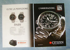 BELLEU004-PUBBLICITA'/ADVERTISING-2004- CITIZEN PROMASTER ECO DRIVE