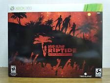 NEW Dead Island Riptide: Rigor Mortis Edition (Microsoft Xbox 360, 2013) Sealed!