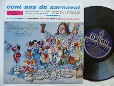 "25 cms 10"" Cent ans de carnaval NICE La Ciamada nissarda Mario Lines OS 1231"