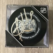 Dante Fabbro Nashville Predators Signed 2020 Winter Classic Game Puck A w/Proof