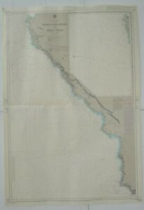 Admiralty 778 Point Conception to Point Pinos Nautical Marine Geographic Map