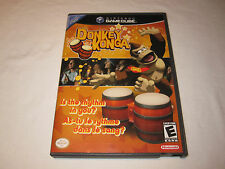 Donkey Konga (Nintendo GameCube) Original Release Game Complete Nr Mint!