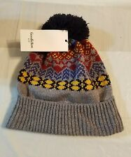 beanie hats pompom one size  women hiking camping #18