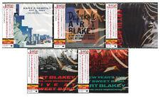 ART BLAKEY & JAZZ MESSENGERS-LOT OF 5 CD-JAPAN CD SET 266