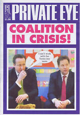 PRIVATE EYE 1340 -  17 - 30 May 2013 - Cameron Clegg - COALITION IN CRISIS!