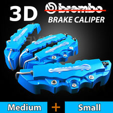 4pcs Blue Disc Racing Running Brake Caliper Covers For BMW # 16-18 inch wheels