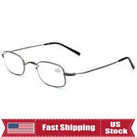 Flexible Reading Glasses Metal Lightweight Readers Mens Womens +1.0~3.5 K3049us