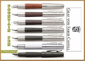 FABER-CASTELL Collection Fountain Pen E-MOTION 7 model Design different nibs