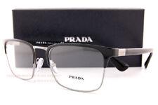 Brand New Prada Eyeglass Frames 54TV 1AB Black Size 55 For Men