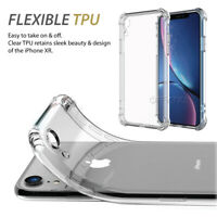 Clear Phone case for iPhone XR Flexible Clear TPU Phone case impact shock Gel