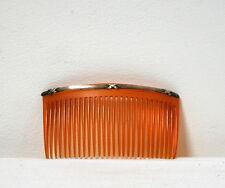 Grand peigne vintage orangé