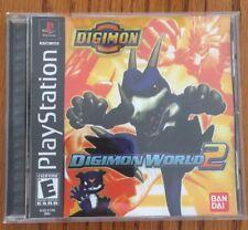 DIGIMON WORLD 2 PS1 Game Rare PlayStation