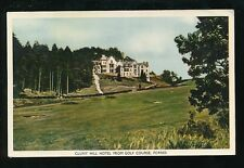 Scotland Morayshire FORRES Cluny Hill Hotel from Golf Course 1959 PPC sport