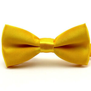 Baby Boy Bowtie Kid Toddler Child Pre Tied Party Wedding Tuxedo Bow Tie Necktie