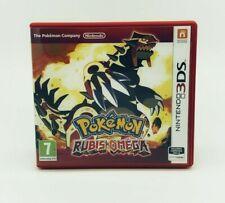 Pokémon Omega Rubin (FR Case) Nintendo 3DS Gut OVP mit Beschreibung DE spielbar