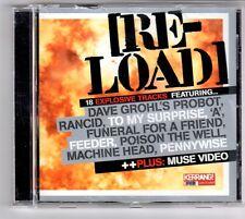 (GQ265) Re-Load, 18 tracks various artists - Kerrang! CD