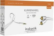 Inakustik Star Series Mp3 Audio Cable Jack Cinch 1.5 M