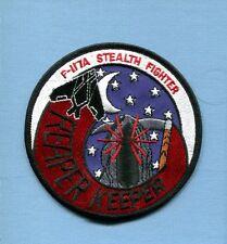 REAPER KEEPER LOCKHEED F-117 NIGHTHAWK USAF Stealth Maintenance Squadron Patch