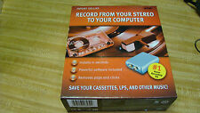 Xitel Stereo To Pc Computer Import Deluxe Recording Kit New Factory Sealed