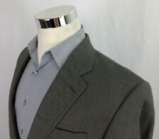 Ralph Lauren Blue Label Suit Jacket Blazer Sport Coat 41L 42 Wool Gray 2 Button