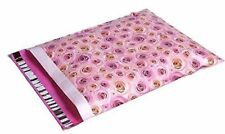 Pink Roses DESIGNER Poly Mailers Envelopes Boutique Custom Bags 100 14x17